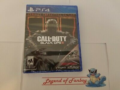 New * Call of Duty Black Ops III 3 Zombies Chronicles Edition ps4 PlayStation 4