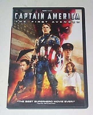 Captain America: The First Avenger  WS (DVD Used Like New) WS