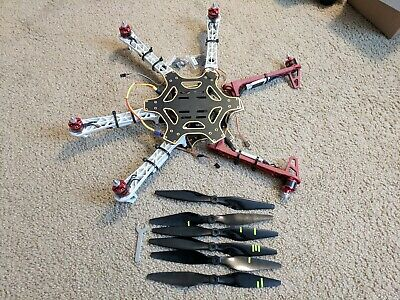 DJI F550 Flamewheel Hexacopter with Motors and ESCs