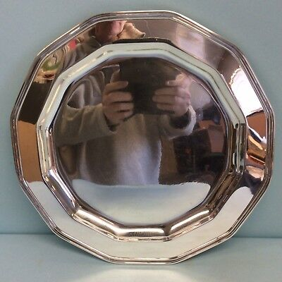 "Sterling Silver Salver by Tiffany & Co. 12 7/8"" Diameter"