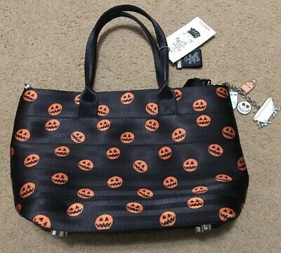 43f90840d62 NWT Disney Parks Harveys Nightmare Before Christmas Streamline Pumpkin Purse