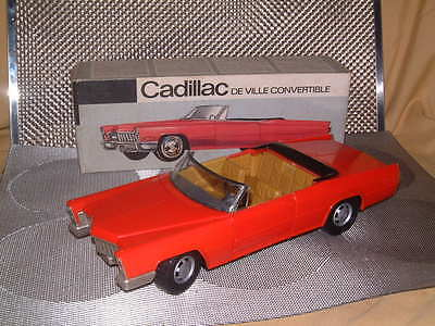 Rare Schuco Cadillac De Ville 5505 In Red, B/o Perfectly Working & W/box!