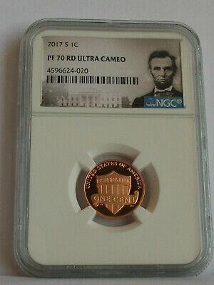 2017 S Lincoln Shield Proof Penny One Cent Pf70 Ultra Cameo Lincoln Label