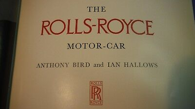 The Rolls-Royce Motor Car and the Bentley Since 1931 Vintage Book First Edition