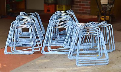 X34 Chromed Stackable Chair Frames