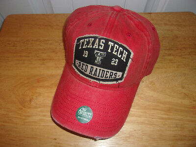 NWT RED TEXAS Tech Red Raider Nation Under Armour Hat Cap