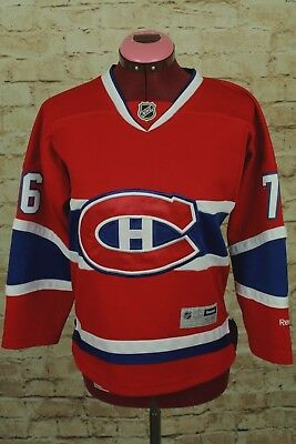 new style 512ac a62c9 P.K. SUBBAN MONTREAL Canadiens NHL Reebok Youth Replica Home ...