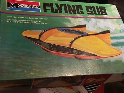 monogram 6011 Flying Sub Voyage to the Bottom of the Sea new inthe box