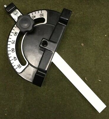 """3/4"""" x 3/8"""" Miter Gauge Aluminum Mitre Gage Table Saw Track Router Bandsaw Etc"""