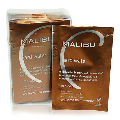 Malibu C • Hard Water Weekly Demineralizer • 12 pk • New in Box • AUTHENTIC