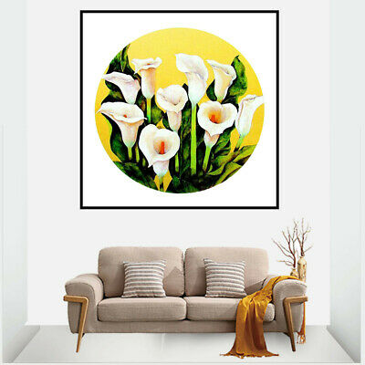 Calla Lily Canvas Painting Poster Living Room Picture Wall Home Room Decor Gifts