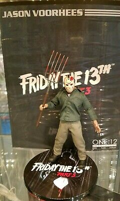 Jason Voorhees One:12 Collective AF 2018 Friday The 13th Part 3 Mezco New