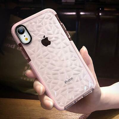 For iPhone 7 8 Plus Case Shockproof Crystal Clear Silicone Gel Bumper Cover Slim