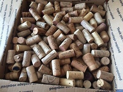 450 Used Wine Corks- No Champagne, no Synthetic Corks- Free Shipping