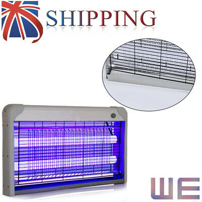 Electric UV Insect Killer Mosquito Fly Pest Bug Zapper Catcher Trap 20/30W UK