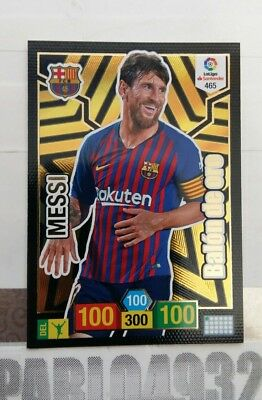 ADRENALYN XL 2018 2019  BALON DE ORO MESSI  p