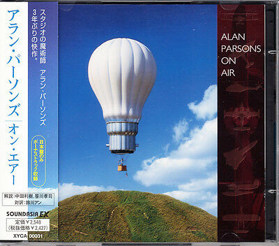 Alan Parsons On Air 1997 Japan CD + CD-ROM 1st Press With Obi Bonus  XYCA-00031
