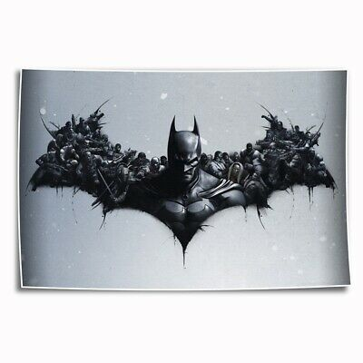 """12""""x18""""DC Batman Paintings HD Print on Canvas Home Decor room Wall Art Pictures"""