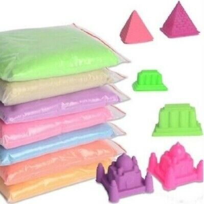 No-mess Dynamic Indoor Play Children toys 50G/bag Magic Sand Educational