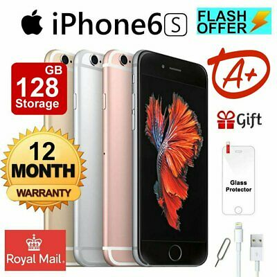 Apple iPhone 6s 64GB Unlocked 4G LTE Smartphone Mobile Plus Gift - Grade A