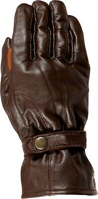 Weise Highway Gloves Brown Leather Motorcycle Gloves NEW RRP £49.99!!