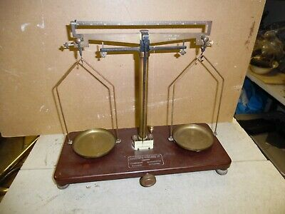 Griffin & Tatlock chemical balance scales antique