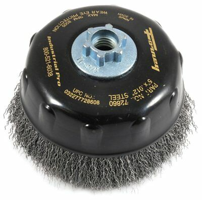 "Industrial Pro / Forney 72860 Crimped 5"" Cup Brush   Upc:032277728608"