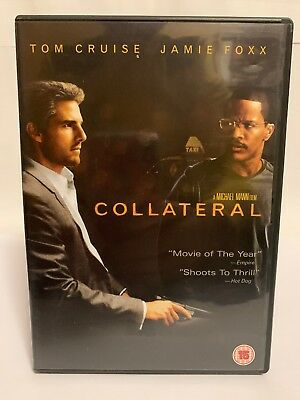 Collateral - Dvd (2005) Tom Cruise - Jamie Foxx - Jada Pinkett Smith - Free P&P