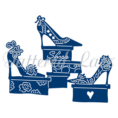 New Tattered Lace Shoe Boutique Cutting Die ETL430