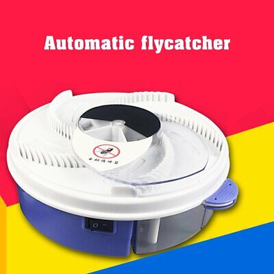 FH_Electric USB Automatic Flycatcher Fly Trap  Device Pest Reject Control