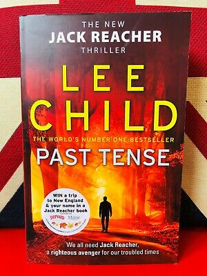 Past Tense by Lee Child (Paperback 2019) Jack Reacher Book 23. *NEW*