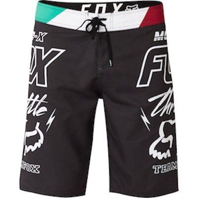 Costume FOX THROTTLE BOARDSHORT Black Tg. 30
