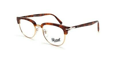 be785ce80fd07 Persol Eyeglasses PO3197V 1072 TORTOISE GOLD 3197 Tailoring Edition Round NEW  52