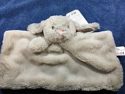 Kid Cute Rabbit Security Sleep Plush Toy Cloth Soft Comforter Blanket SuppliesSH