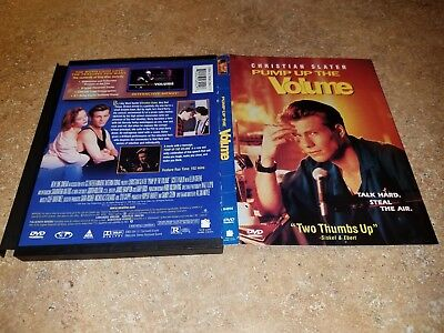 PUMP UP THE VOLUME ~ Christian Slater, Samantha Mathis, Mimi Kennedy ~ DVD