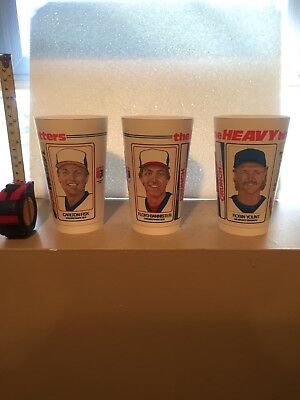25 CUPS CARLTON FISK Robin Yount Chicago White Sox Milwaukee Brewers NEW Vintage