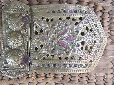 Rare Antique Ottoman Bronze Half Buckle - late 18th.