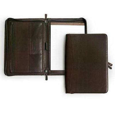 Osgoode Marley 1810 Espresso Zippered Letter Sized Writing Pad