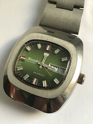 Reloj Vintage NIVADA AUTOMATIC CALENDARIO  SWISS MADE