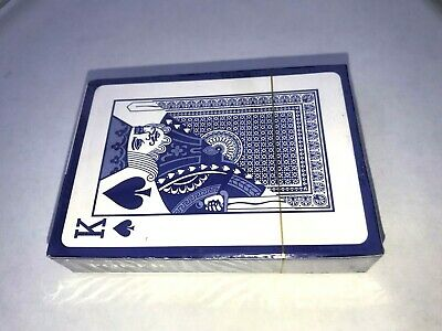 Blue Original Playing Cards Classic Standard Size Durable Deck Poker Bridge