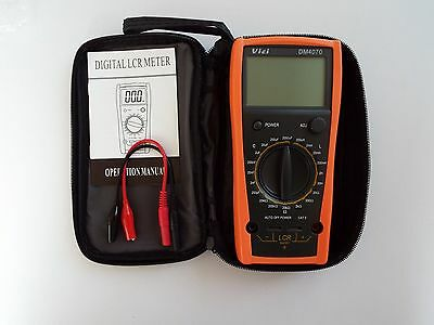 ViCi DM4070 Digital LCR Meter with Free Portable Case