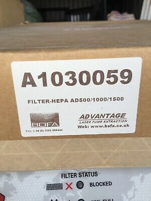 Bofa A1030059 Lazer Fume Extraction Filter X 2