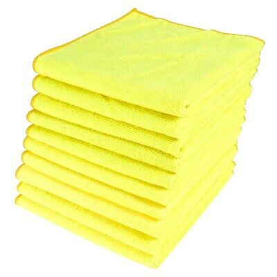 Microfibre Cleaning Cloths Detailing Polish Lint Free Dusters Machine Washable