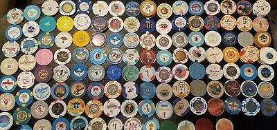 Casino Chips ~ Many Listed ~ Use Drop Down Menu To Choose The Ones You Want