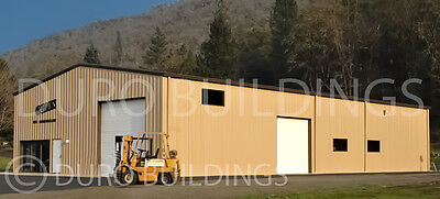 DuroBEAM Steel 40x74x12 Metal Rigid Frame Prefab Ibeam Building Structure DiRECT