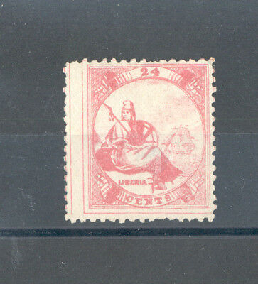 Liberia - Classic Stamp Year 1864 MNG (Single Line Frame)