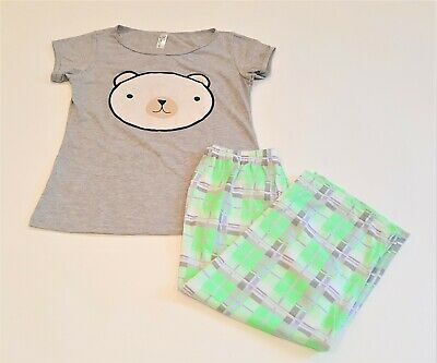 Pants Sleepwear by AnniQua3 Piece Cold Pajama Set Sweater and Shirt Top