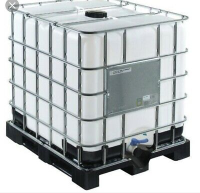 BEST ON EBAY IBC Water Tank. 1000 Litre USED ONCE