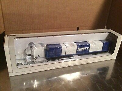 Swift Freightliner XL Semi Taxi Camion & Bâche Charge Benne Remorque 1:64