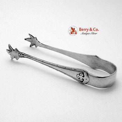 Carmel Sugar Tongs Wallace Sterling Silver 1912